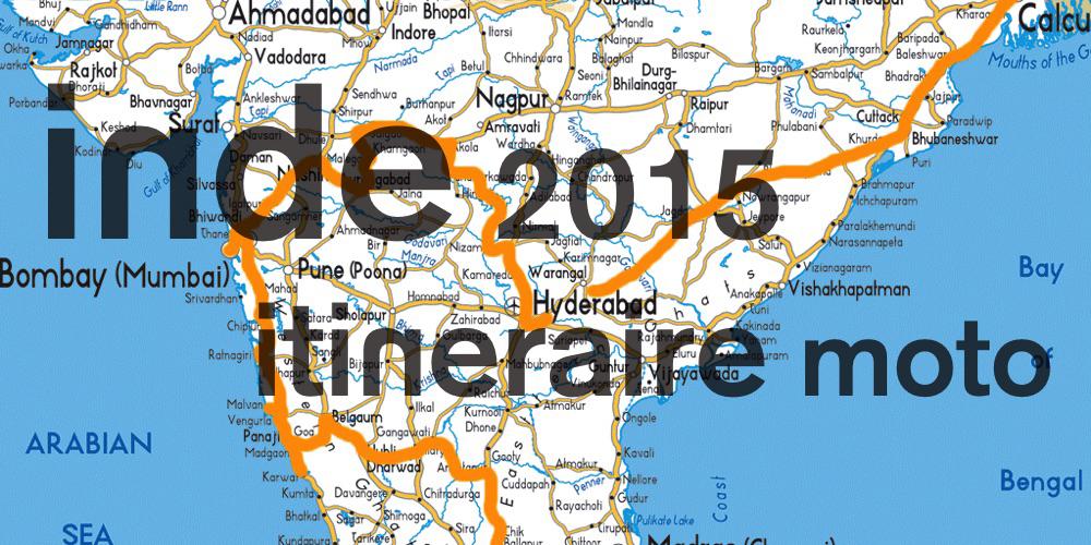 Itinéraire moto en inde