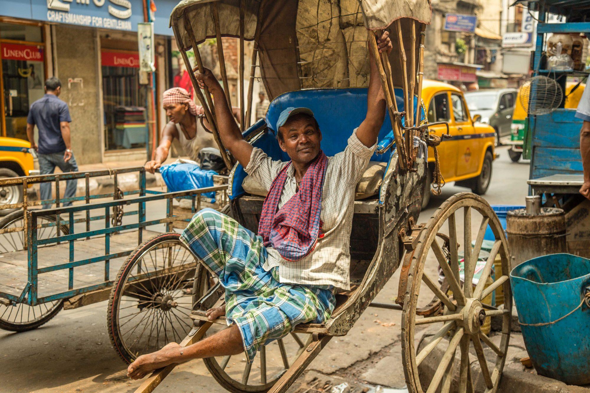 Tireur de Rickshaw