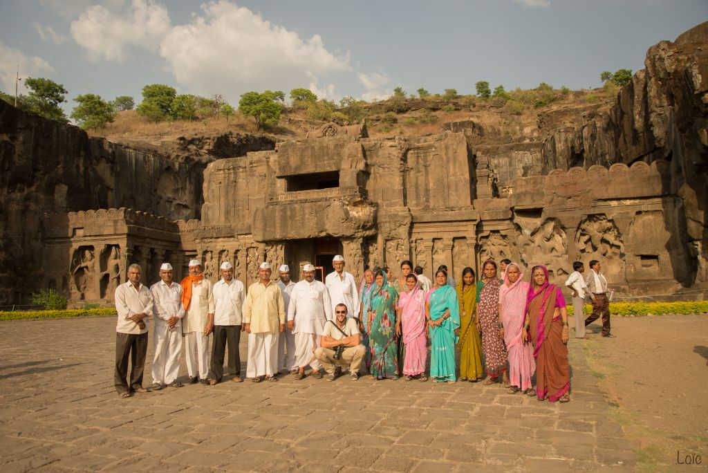 A step into the shadows of history, in the caves of Ellora and Ajanta.