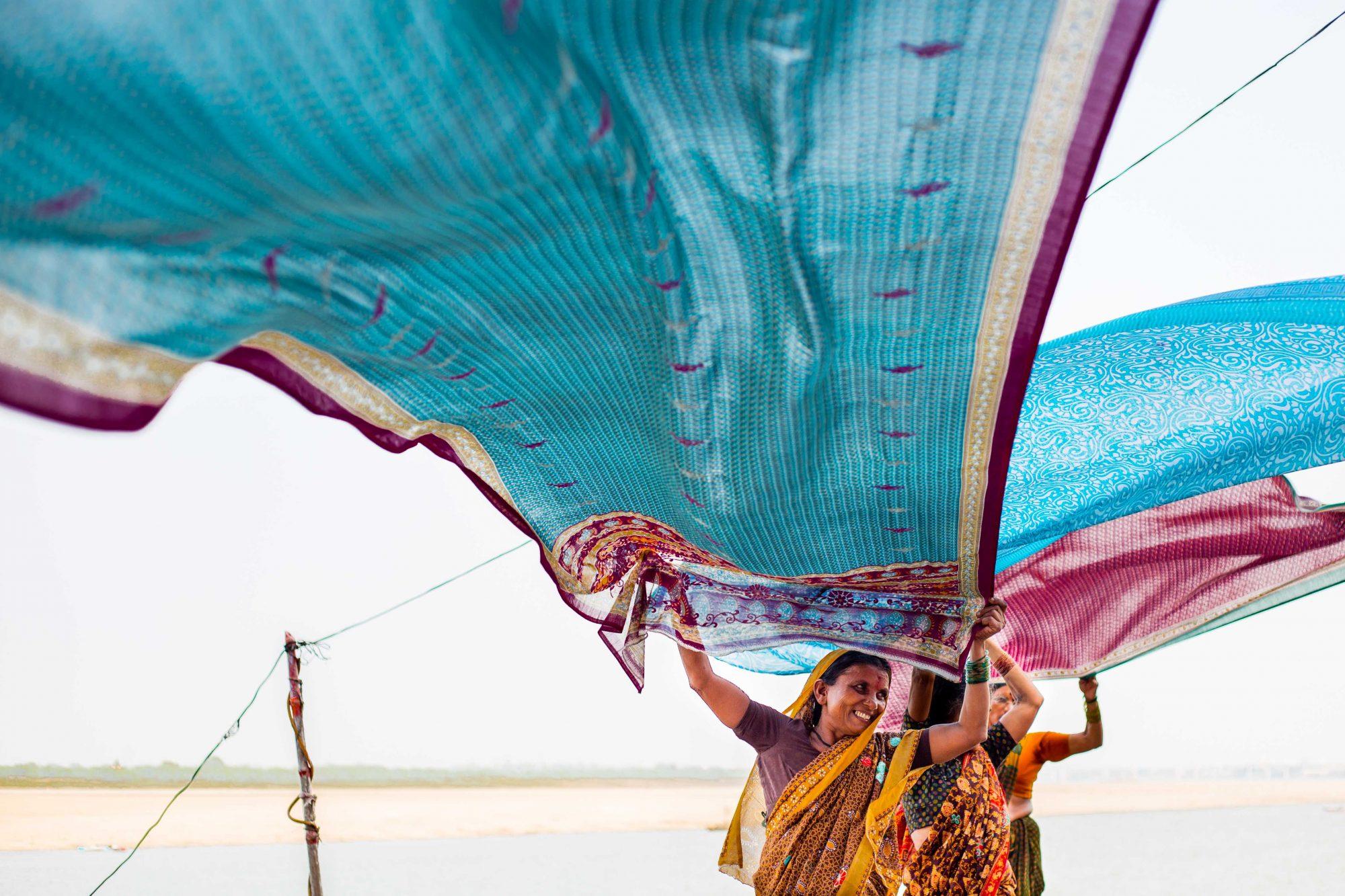 Séchage de Sari