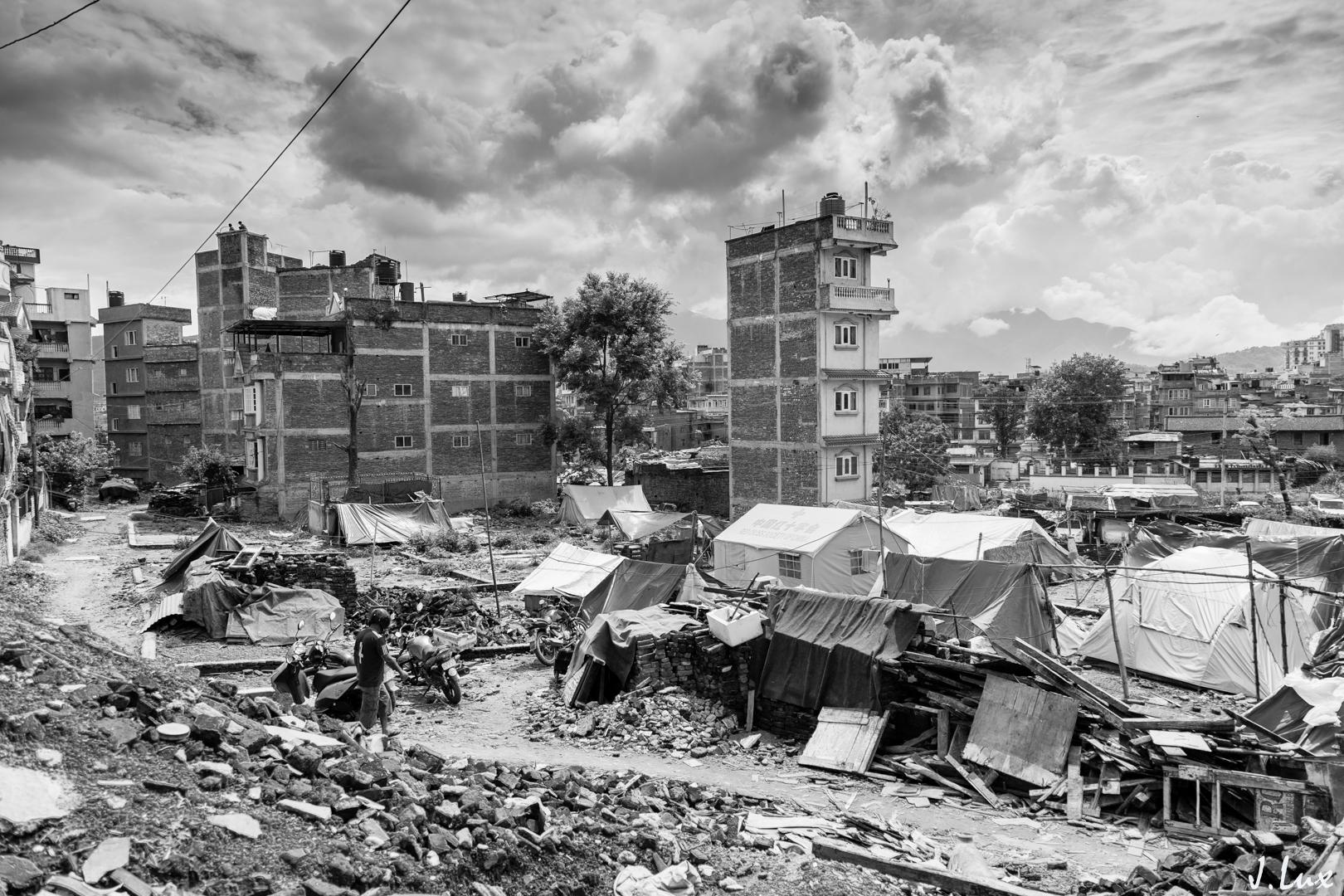Népal- Partie 1: Brique par brique, 3 mois après le séisme