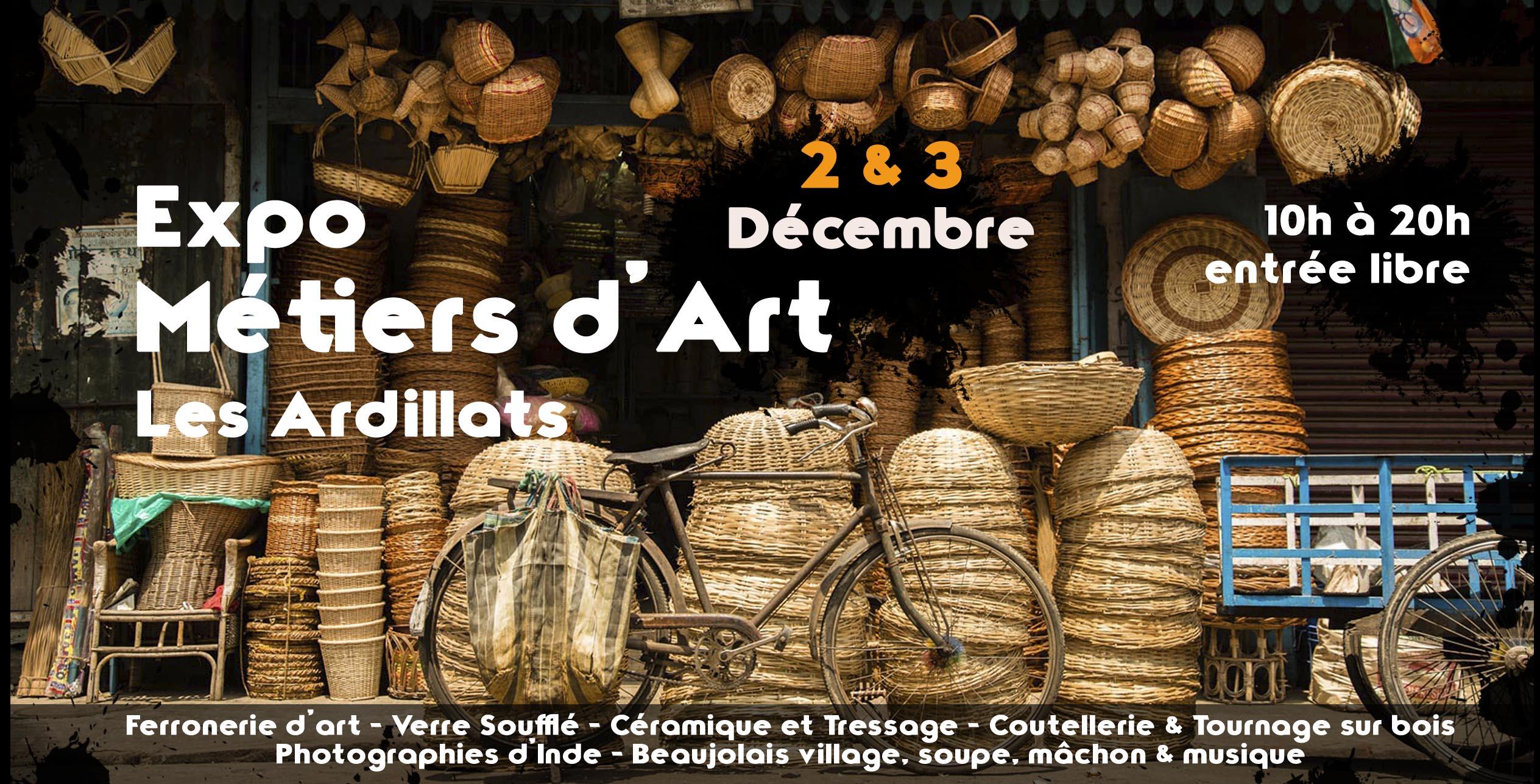 Flyer Expo Métiers d'Art