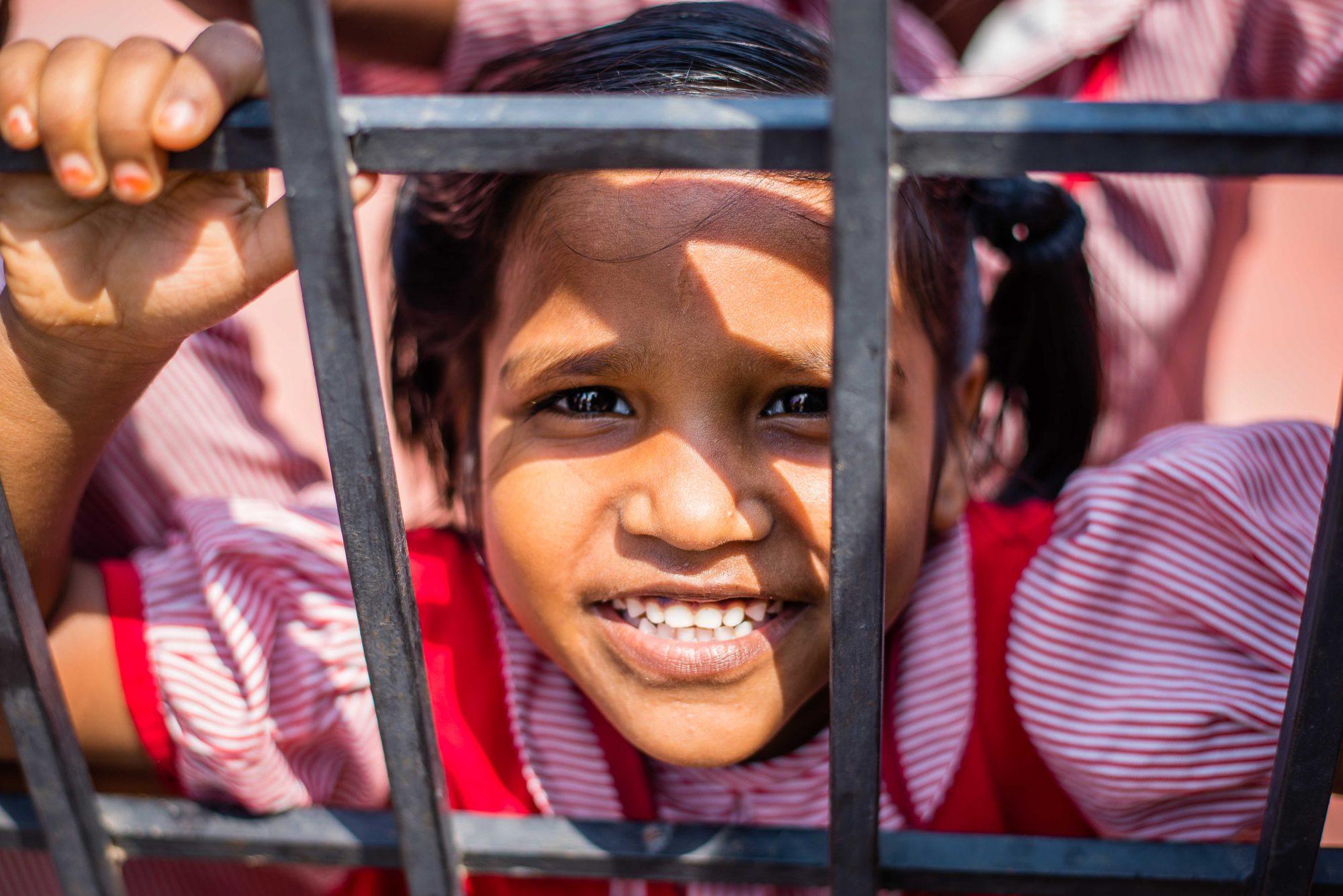 Sourire d' écolière
