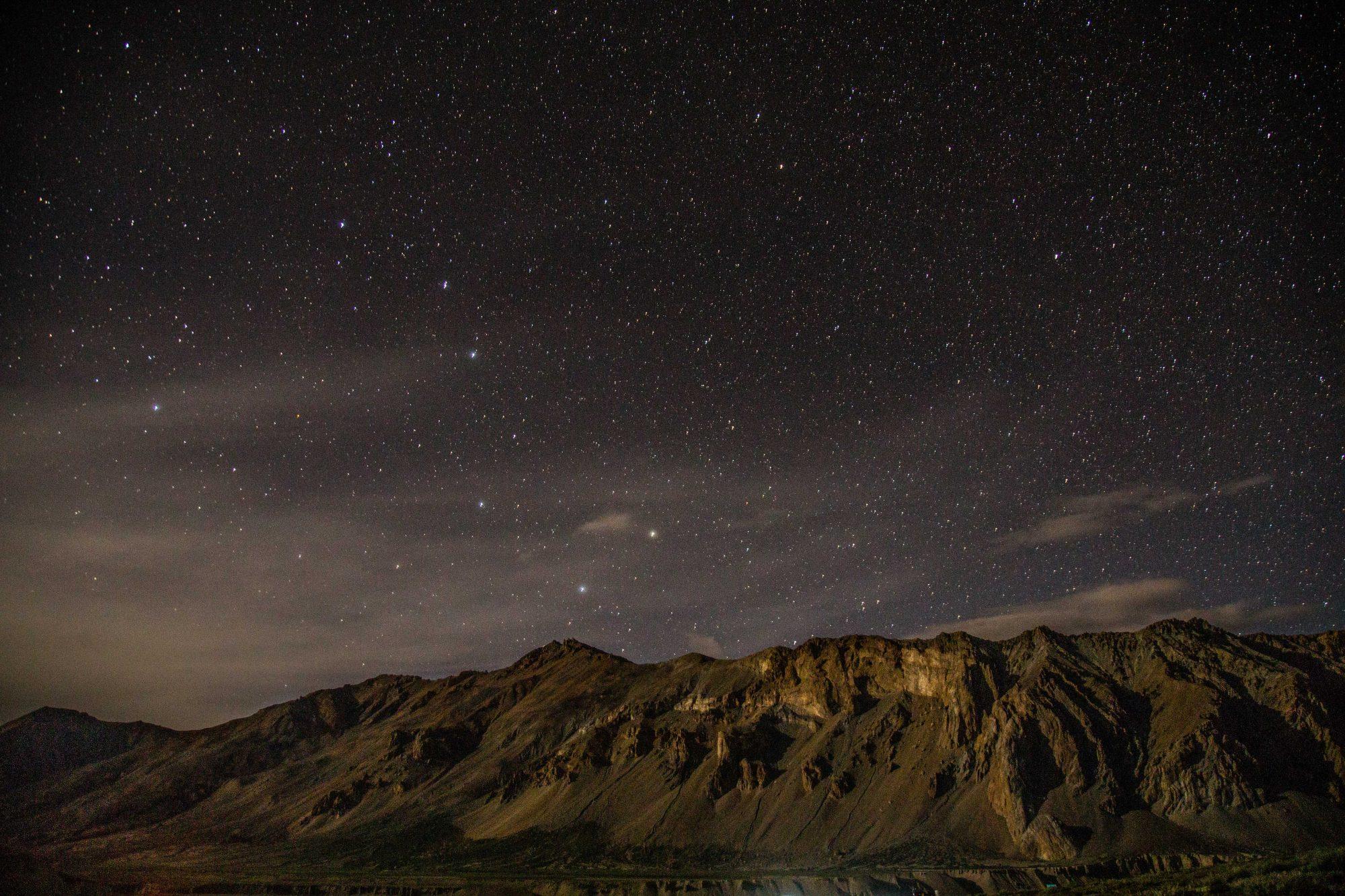 Sous les étoiles des sommets