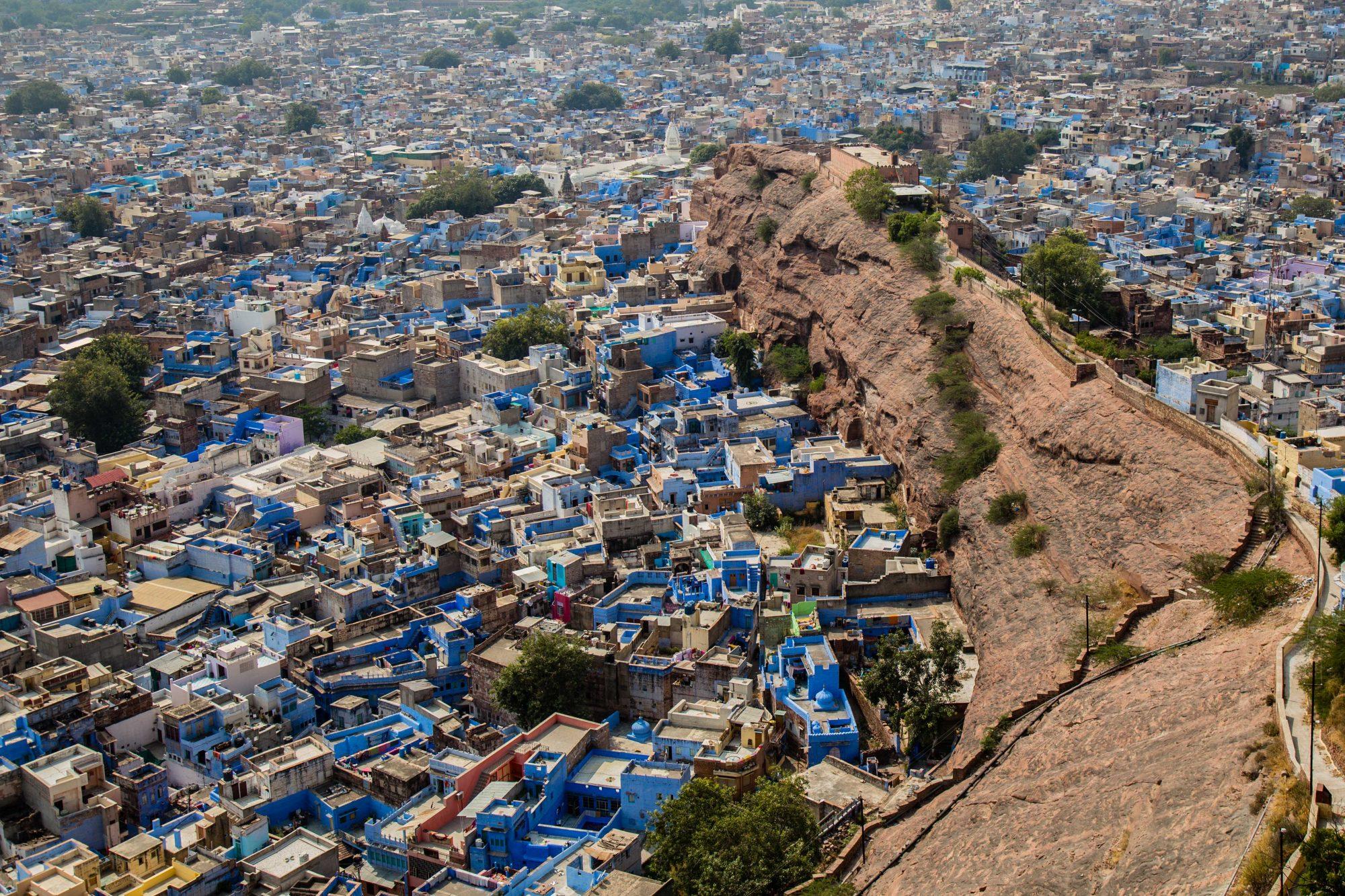 Jodhpur , la ville bleue