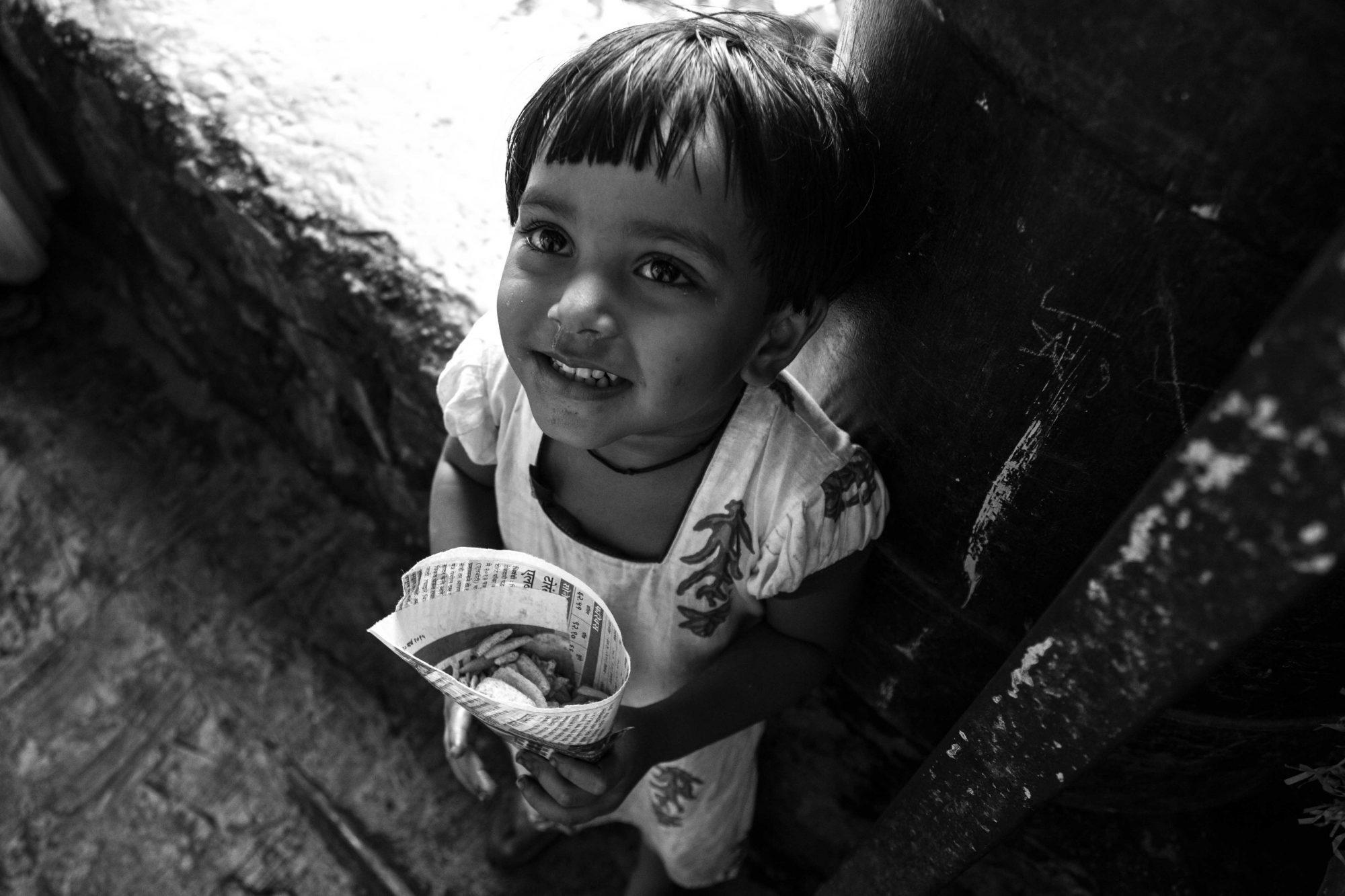 dans les ruelles de Dharavi