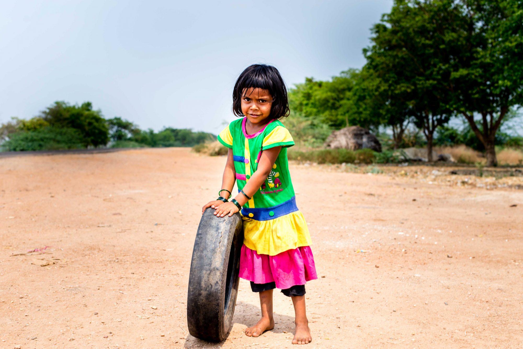 Petite fille de Goa