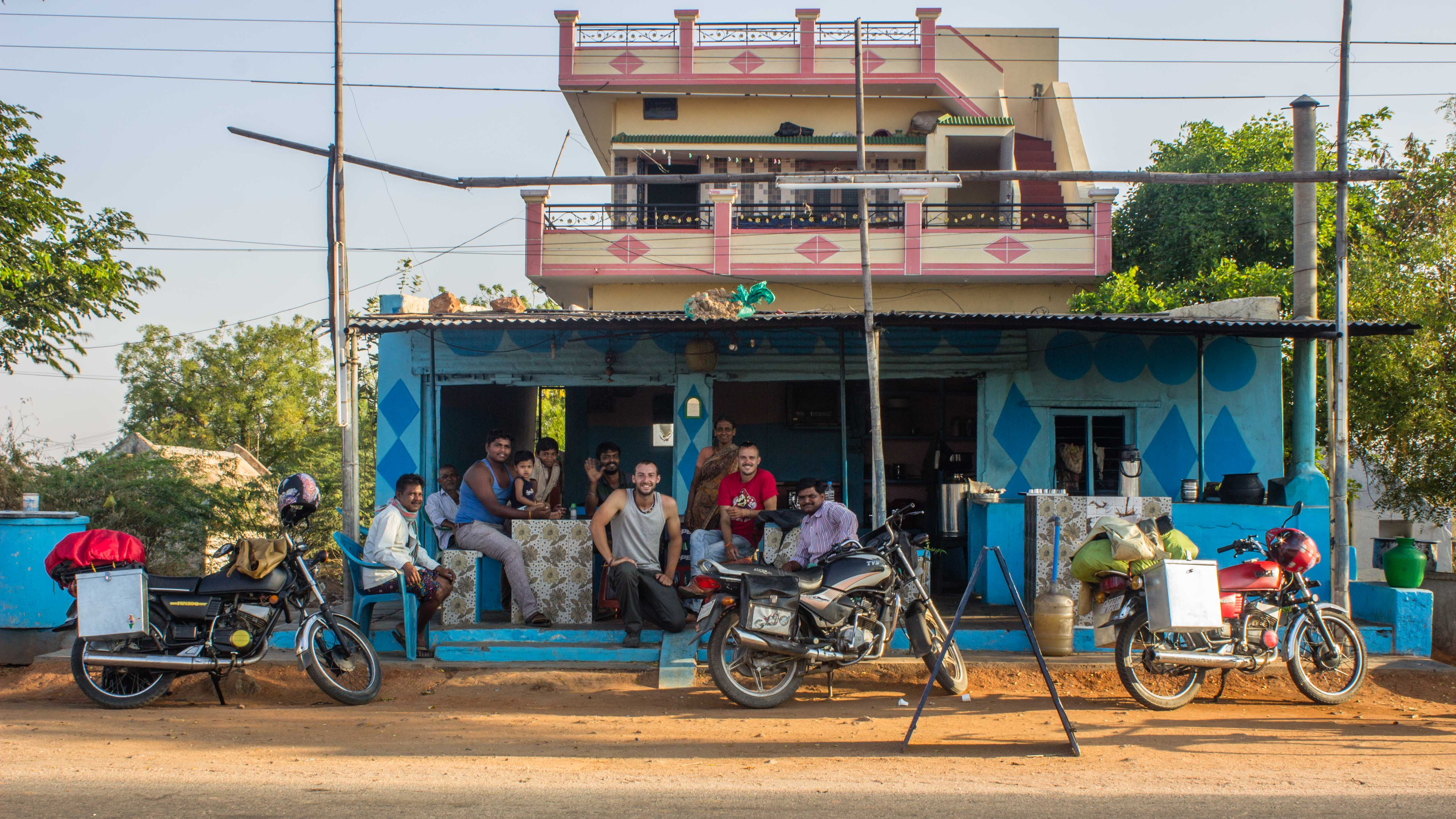 Road trip from Pondicherry to Hampi