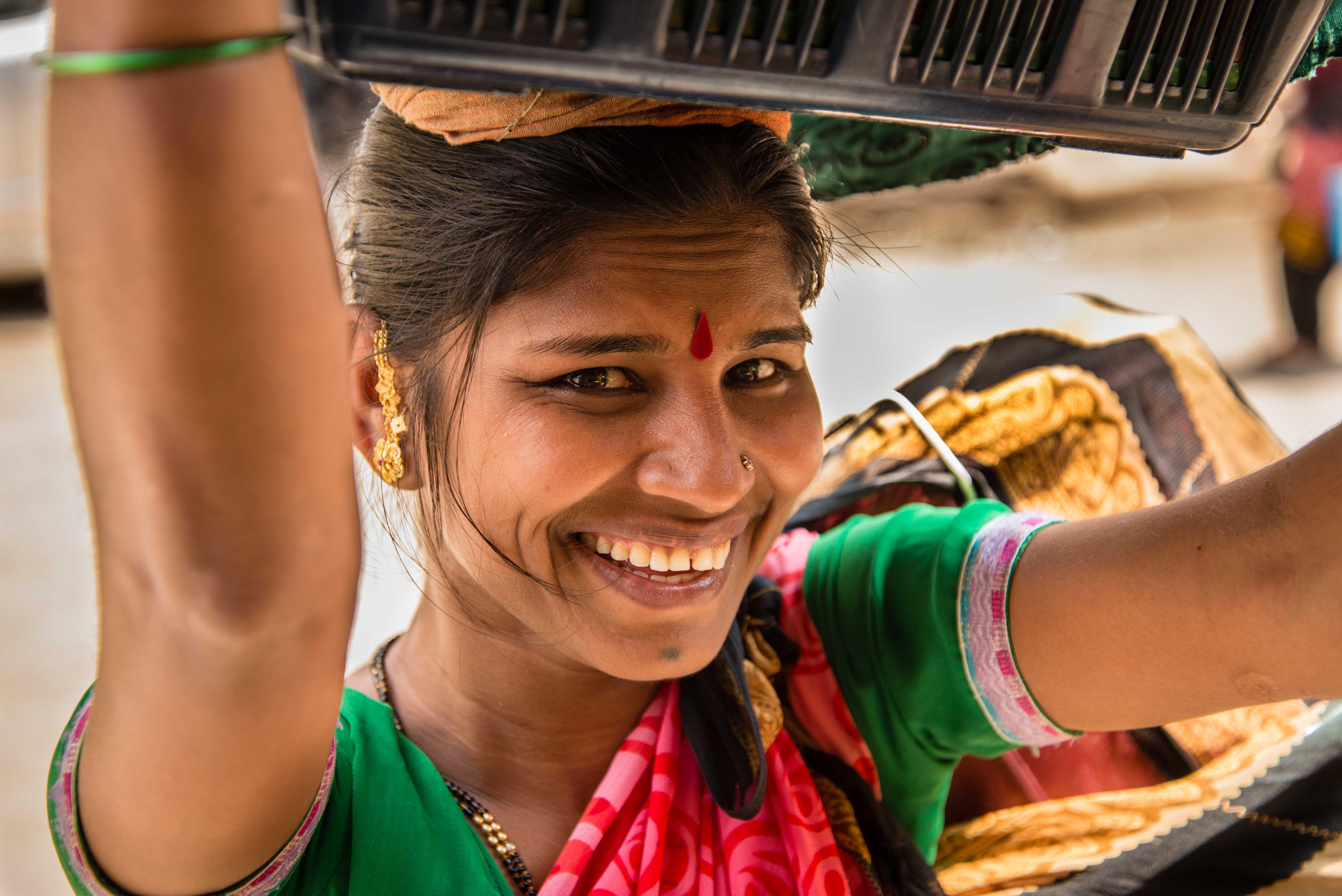 Sourire de Mumbai